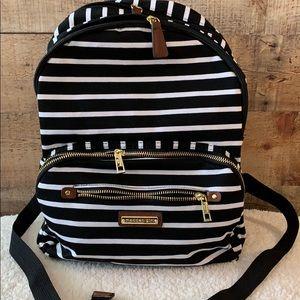 🖤 Madden Girl 👧 Fun Stripped Backpack NWT 🖤